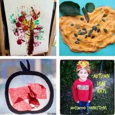 autumn fall crafts and activities for toddlers