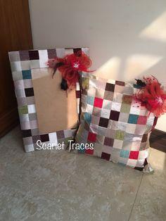 Photo frame and cushion gift set