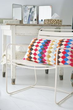 surprising & harlequin by wood & wool stool, via Flickr