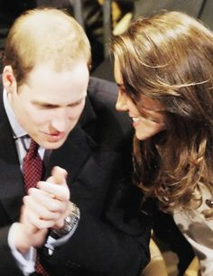 "William: ""Kate...?"" Kate: ""What is it william?"" William: ""Will you marry me?"" The rest is history."