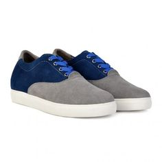 Blue-grey sneakers for men, very comfortable!