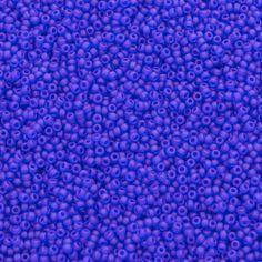 11/0 Matte Tr Cobalt Miyuki Seed Beads