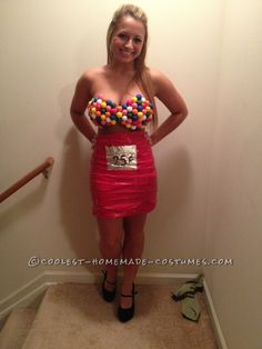 Sexy Gumball Girl Costume… Coolest Halloween Costume Contest