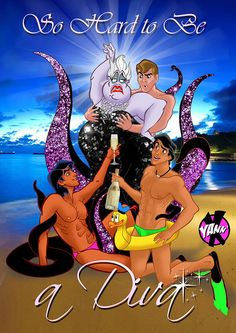 All characters belongs to the Walt Disney company. DIVA by YANN'X Walt Disney Company, Gay, Classic Cartoons, Arts And Entertainment, Disney And Dreamworks, Art Pictures, Pop Culture, Disney Characters, Fictional Characters