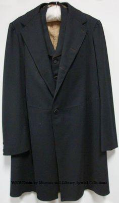 Man's frock coat and vest