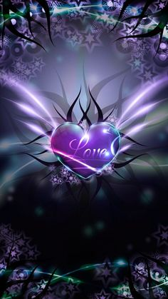Love Heart wallpaper by mirapav - 33 - Free on ZEDGE™ Heart Wallpaper, Purple Wallpaper, Butterfly Wallpaper, Love Wallpaper, Cellphone Wallpaper, Colorful Wallpaper, Wallpaper Backgrounds, Phone Backgrounds, Iphone Wallpapers