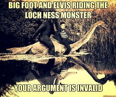 BIGFOOT OR SASQUATCH