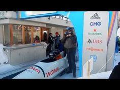 Bobsleigh in St. Moritz, Switserland