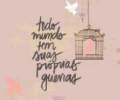 quotes, frases, textos em português de bibernardes no We Heart It