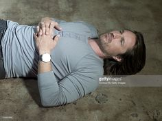 Actor Martin Henderson poses at a portrait session for No Magazine in Los Angeles, California on February 25, 2011.