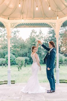 bride and groom dancing at bandstand Thicket Priory spring wedding inspiration Beautiful Wedding Venues, Dream Wedding, Wedding Blog, Spring Wedding, First Dance Inspiration, Wedding Inspiration, Wedding Shoot, Wedding Dresses, Wedding First Dance