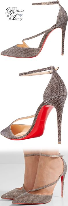 Brilliant Luxury ♦ Christian Louboutin Fliketta Pumps