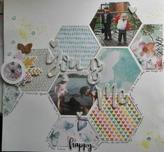 You and me scrapbook page made with Silhouette Cameo My Scrapbook, Scrapbooking, Silhouette Cameo, You And I, Decorative Boxes, Portrait Ideas, Blog, Tutorials, Tu Y Yo