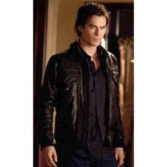 Ian somerhalder as Damon Salvatore!