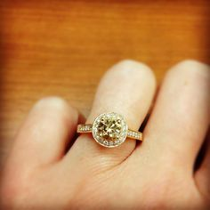 "Ben Bridge fan says ""It's my perfect ring!"""