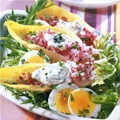 Witlof en rode bieten salade @ allrecipes.nl