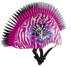 Raskullz Zebra Mohawk Helmet, 5+ Years, White, http://www.amazon.com/dp/B00BJKUIN4/ref=cm_sw_r_pi_awdm_ewzTsb0APT87X