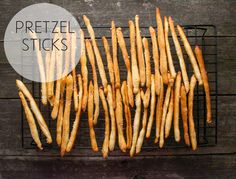 Pretzel Sticks | 21 Healthier Snacks Your Kids Will Actually Want To Eat