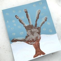 "Snowy Handprint Tree with thumbprint snowflakes - via Spoonful, a Disney site. They don't say it loudly, but it's definitely a corporate site. Looking for a link to ""the most dangerous dog breed for your child""? (Any dog, if it isn't trained correctly, much less pitbulls, can be dangerous.) You've come to the right place."