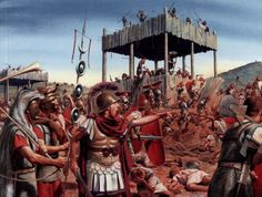 The Battle of Philippi, and the death of Cassius and Brutus. Description from wn.com. I searched for this on bing.com/images