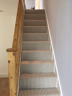 Good Pics striped Carpet Stairs Popular Stairs are the most common devote the ho.Good Pics striped Carpet Stairs Popular Stairs are the most common devote the ho. Good Pics striped Carpet Stairs Popular Stairs are the most common devote the ho… Wood And Carpet Stairs, Striped Carpet Stairs, Patterned Stair Carpet, Stairway Carpet, Striped Carpets, Basement Carpet, Hallway Carpet Runners, Basement Stairs, Stairs Flooring