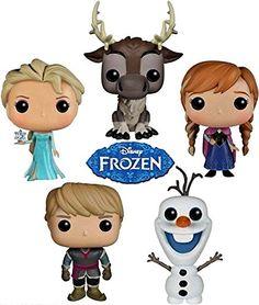Funko POP Disney Frozen Bundle Set of 5 Action Figures- Anna, Elsa, Kristoff, Olaf And Sven FunKo http://www.amazon.com/dp/B00NAC1P4K/ref=cm_sw_r_pi_dp_es2Aub128NQ5V