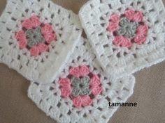 Yatak Örtüsü ve Bebek Battaniyesi Modeli - YouTube Granny Square Blanket, Crochet Bebe, Crochet Squares, Crochet For Beginners, Projects To Try, Crochet Patterns, Shapes, Sewing, Knitting