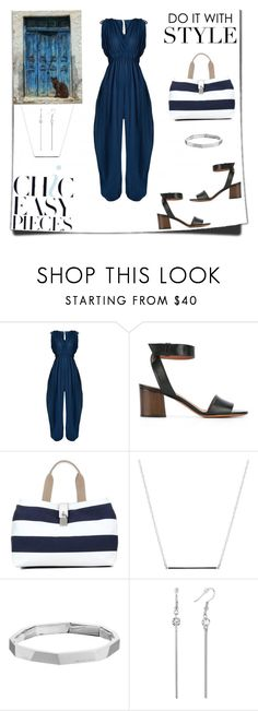 """Summer Jumpsuit"" by rboowybe ❤ liked on Polyvore featuring Loup Charmant, Givenchy, Dolce&Gabbana, ERTH, Michael Kors and contestentry"