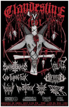 Long Live The Loud 666: CLANDESTINE FEST V WITH:VIOLATE,GOD FEARING FUCK,D...