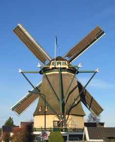Flour mill De Ruiter, Vreeland, the Netherlands