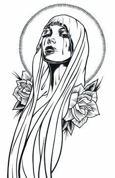 Ilustrações Preto e Branco de Adam Isaac Jackson | Abduzeedo Design Inspiration