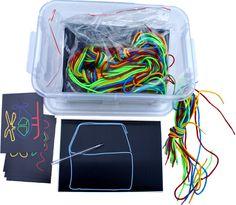 Malowanie sznurkami - zestaw 6 tabliczek albo 4 tabliczek maxi. do zastanowienia