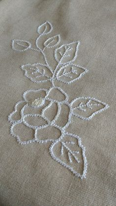 Poentles manual work, making (second part) -Making of crochet-romanian lace (second part .Poentles rucni rad,izrada(prvi deo)-Making of crochet-romanian lace(first part)the cord الكوردون Hand Embroidery Flowers, Hand Embroidery Tutorial, Flower Embroidery Designs, Hand Embroidery Stitches, Lace Embroidery, Embroidery Techniques, Cross Stitch Embroidery, Machine Embroidery Designs, Embroidery Ideas