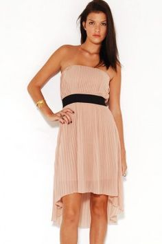 wish the lining matched the full length of the dress, but still cute...
