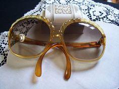 Christian Dior Sunglass 1980's www.rubylane.com #vintagefashion