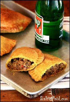 Jamaican Beef Patties - I really enjoy Jamaican food and I would love to try these . But I find that much of Jamaican food is way to hot for me so I would have to cut way back on the chilies or find a substitute for the Scotch Bonnet peppers.