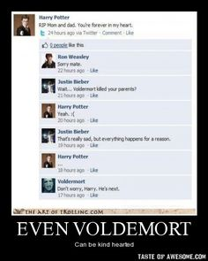 It's about time! My bets on Voldemort.