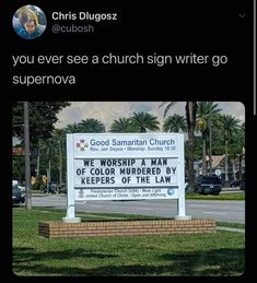 Sign Writer, United Church Of Christ, People Twitter, Presbyterian Church Usa, Church Signs, Patriarchy, Faith In Humanity, Christen, Social Justice