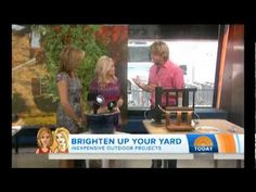 Today Show: Inexpensive Outdoor Projects with Eric from Home Wizards - Nationally Syndicated Radio Show. Improve Your Home. Improve Your Life www.yourhomewizards.com