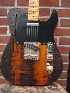 Bowery pine skim top Rick Kelly custom Kellyguitars.com
