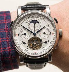 A. Lange and Söhne Tourbograph Perpetual 'Pour Le Mérite' Watch Hands-On