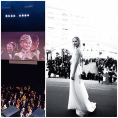 "Over the weekend, ""Youth"" won Best Film, Best Director (Paolo Sorrentino) and Best Actor (Michael Caine) at the European Film Awards. See Mena's Beth Gown worn by the lovely Irina Saldo on the red carpet of the film's premiere in Cannes earlier this year. #Youth #Cannes #RedCarpet #IrinaSaldo #MenaLombardCouture #NeverStrayFromChic"