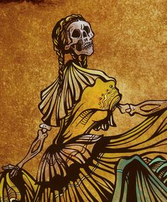 day of the dead spanish dancer - Google Search