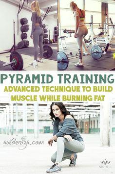 Pruebe estilos de formación de pirámide si usted desea construir el músculo, mientras que la quema de grasa!  3 entrenamientos gratuito que necesita para tratar al final!  @askdeniza