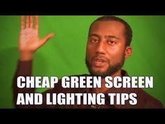 Cheap green screen lightning