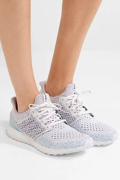 adidas Originals - Parley Ultra Boost Clima Primeknit Sneakers - White   adidas  ultraboost  activewear  gymstyle  shoes bab0787015b5