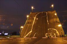 WHY RUSSIAN ART GROUP VOINA 'DICKED' A ST. PETERSBURG BRIDGE    #streetart #graffiti #russia
