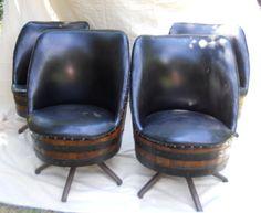 Full Set Of Barrel Furniture   On Craigslist, Missouri | Barrel Furniture,  1920s Furniture And Barrels