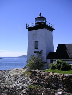 Grindle Point Light Station in Waldo County, Maine.