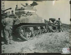 Sherman, el carro de combate estadounidense de la Segunda Guerra Mundial (II)   Grupo de Estudios de Historia Militar